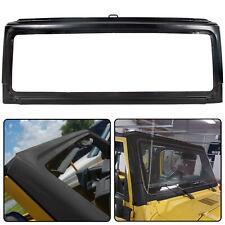Black For 2003 2004 2005 2006 Jeep Wrangler Front Windshield Frame 55395014Ab