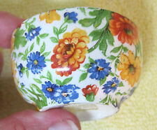 Vintage James Kent Chintz Sugar Bowl Marigold For Breakfast Set Tray  T25