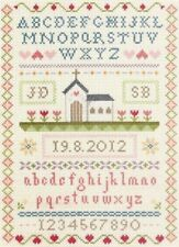 ANCHOR WEDDING CLASSIC SAMPLER RECORD COUNTED CROSS STITCH KIT PERSONLISE - NEW