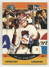 1990-91 Pro Set Hockey - #359 - Patrick Roy - Montreal Canadiens