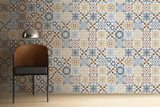 Walplus Tile Azulejo Tiles Wall Sticker Decal (Size: 20cm x 20cm @ 12pcs)