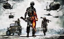 "20 Battlefield Bad Company 2 Vietnam 23""x14"" Poster"