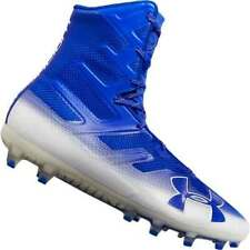 03c52cae4657 Under Armour Men Highlight MC Football Lacrosse Cleats Shoes 3000177 Royal  Blue