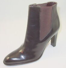 Via Spiga 7.5 M Brown Ankle Boot Amputee Left Foot Pull On Uptown Chic Italy New