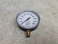 Ashcroft 35-W1005P-02L-XUL 0-300 Water PSI Pressure Gauge 35W1005P02LXUL (OK)