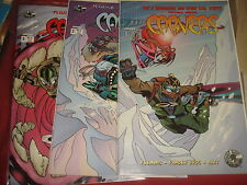 THE CARVERS #1,2,3, Pander Bros Image Comics - NM 1998
