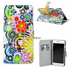 """Stand Flip Leather Slot Card Wallet Cover Case Skin For Apple iPhone 6 Plus 5.5"""""""