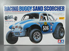 New Tamiya 58452 1/10 RC SAND SCORCHER Classic Off Road Buggy w/ ESC Re-issue