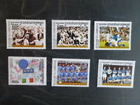 CAMBODIA 2001 FOOTBALL WORLD CUP SET 6 MINT STAMPS MUH