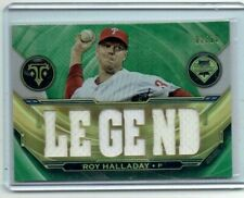 Roy Halladay 2019 Topps Triple Threads Legend Jersey Card /18