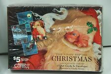 Kohl's Cares 'Twas the Night Before Christmas  Art note greeting Cards NIB