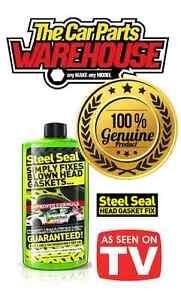 STEEL SEAL REPAIR FIXES BLOWN HEAD GASKETS GUARANTEED CYLINDER HEAD STEELSEAL