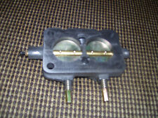 1957 1958 OLDS J2 TRI POWER CARB BASES [3]  USA MADE