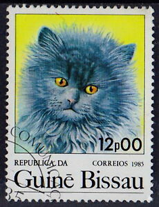 Guinea-Bissau 1985 Animals Domestic CATS 12 peso STAMPS