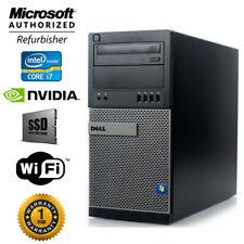 Dell Gaming PC I7, NVIDIA GTX 1660, SSD + 1TB, 16GB RAM, WIN10, Desktop Computer
