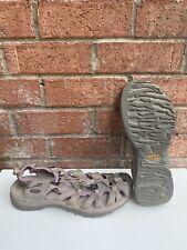 KEEN Women's Waterproof Sandals Whisper 5124-Grey/Purple Hiking Shoes 10.5