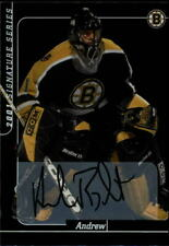 2000-01 BAP Signature Series Autographs #215 Andrew Raycroft Auto Card