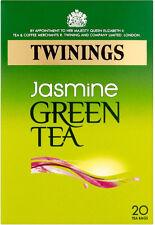 TWININGS JASMINE GREEN TEA 20 TEA BAGS