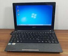 "Acer Aspire One 10,1"" Mini Netbook Win7 Cardr. Wlan 250GB 1GB Webcam USB 2.0 uvm"