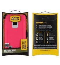 OEM Otterbox Defender Rugged Case For Samsung Galaxy Note 4 IV Neon Rose Pink