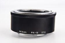 Nikon PK-13 27.5mm Macro Close Up Tubo di prolunga per F Mount Quasi Nuovo V14