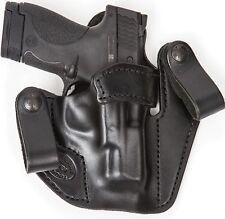 Cintura Marrom Polegar Mão Direita Break Cinto de couro se encaixa Coldre Glock 30