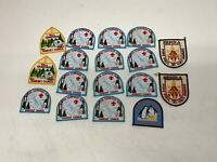 Boyscout Patches Collection  of 18 (Lot #3) SERRA POPE AWARD UNIT