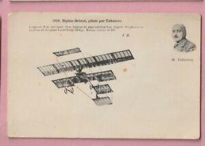 Aviation, French, Biplan Bristol Pilote M. Tabuteau.