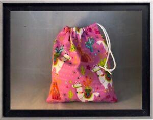 Gymnastics Leotard Grip Bags / Love those Llamas Gymnasts Birthday Goody Bag