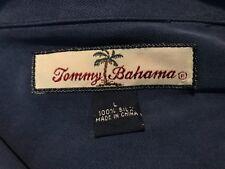 Tommy Bahama Blue Silk Short Sleeve Shirt Large