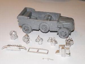 Early War 20mm (1/72) German Steyr 1500A Radio Field Car