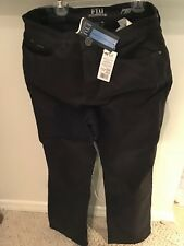 """BNWT French Dressing PEGGY Brown 5-Pkt Jeans, Curvy Fit, Size 14 P, 31"""" Inseam"""