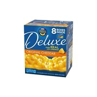 Kraft Deluxe Original Cheddar Macaroni & Cheese Dinner (14 oz., 8 pk.)
