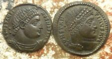 Lot of 2 EF Ancient Roman Coins of Constantine the Great! Largest 20.5 mm.