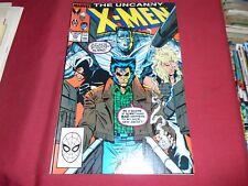 UNCANNY X-MEN #245 Marvel Comics 1989 NM