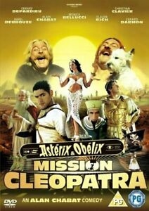 ASTERIX AND OBELIX - MISSION CLEOPATRA DVD [UK] NEW DVD
