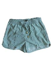 Shorts H&M Size 8 Green Patterned Summer Shorts