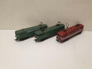 Gégé lot de 3 locomotives bb 9240  en HO