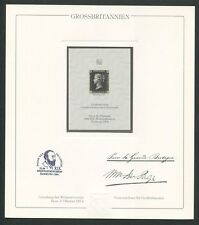 Great Britain No. 1 Official Reprint Upu Congress 1984 members only Rare z1605