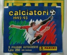 Bustina Calciatori 1992 1993 panini  SIGILLATA