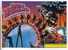 10 PC LOT~SERIAL THRILLER S COASTER,ASTROWORLD,TX~SIX FLAGS AMUSEMENT PARK~5X7""