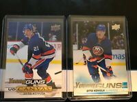 2019-20 UPPER DECK YOUNG GUNS + CANVAS OTTO KOIVULA  LOT OF 2