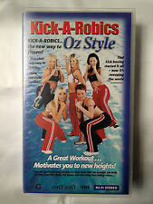 AEROBICS OZ STYLE ~ KICK-A-ROBICS ~ VHS VIDEO