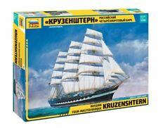 Krusenstern Kruzenshtern Russian Four Masted Sailing Ship Plastic Kit 1:200
