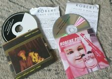 ROBERT POLLARD - GBV - 2 x PROMO CDs WITH BIOGs - GUIDED BY VOICES