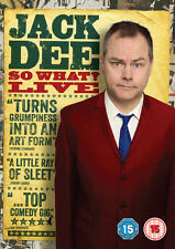 JACK DEE - SO WHAT? LIVE   New & Sealed