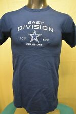 NFL Team Apparel Mens Dallas Cowboys East Division '14 NFC Champions Shirt NWT S