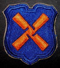 ORIGINAL WWII WW2 U.S. ARMY XII CORPS 12TH CORPS PATCH MINT FROM BUNDLE