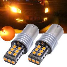 Luz Ámbar Naranja 15 SMD Led 283 P21/5w 1156 Luz Direccional Bombillas Ba15s
