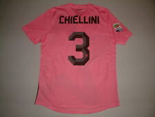 CHIELLINI JUVENTUS AWAY MC-SS match issued 2011-2012 LEGA CALCIO